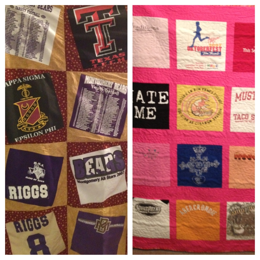 More T-Shirt quilts!